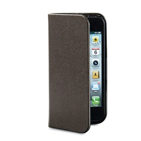 Verbatim Folio Pocket Case for iPhone 5, 98088, Mocha Brown