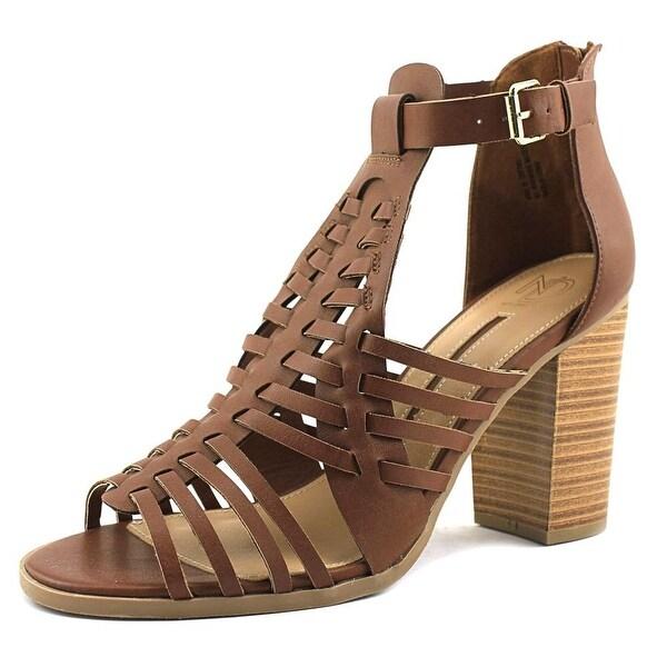 New Directions Gwynn Women Cognac Sandals