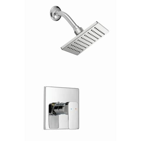 Design House 547711 Shower Trim Package with Single Function Shower Head