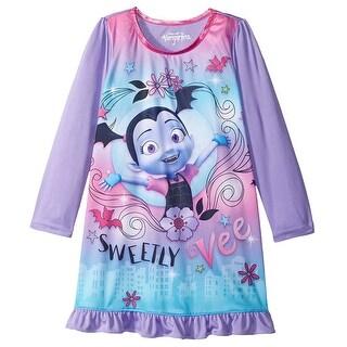 Vampirina Pajamas Girls' Sweetly Vee Sleep Nightgown
