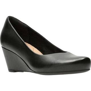 4a9341443d00 Quick View. Was  79.95.  15.99 OFF. Sale  63.96. Clarks Women s Flores  Tulip Wedge Black Full Grain Leather