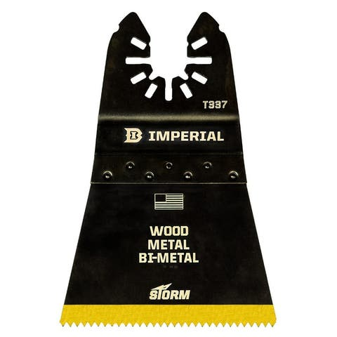 """Imperial Blades IBOAT337-10 18T Universal Blade BM TiN STORM, 2-1/2"""""""