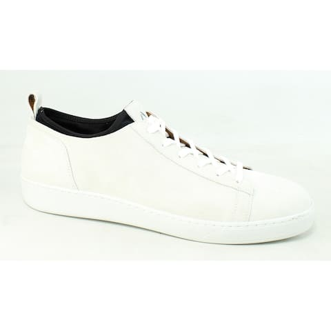 Aquatalia Mens Grey White Fashion Sneaker Size 12