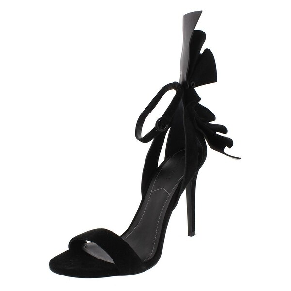 Kendall + Kylie Womens Eve Dress Sandals Suede Ankle Strap