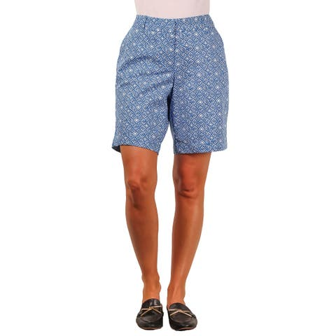 Land 'N Sea Plus Stretch Twill Printed Short