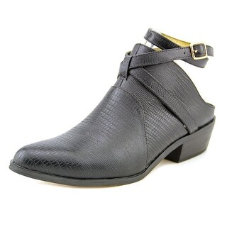 Cynthia Vincent Raleigh Women Round Toe Leather Mules