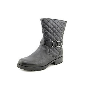 Anne Klein Cajan Leather Ankle Boot