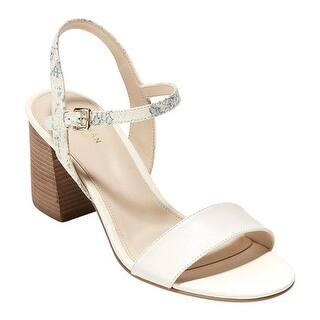 01e77c617c3c Quick View.  99.95. Cole Haan Women s Josie Block Heel Sandal Ivory Roccia  Snake Print Leather