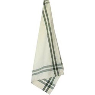 "Sage Stripe - Cream Towel 20""X28"""