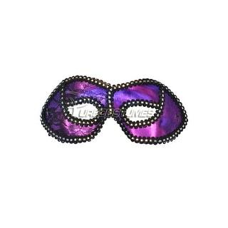 Pure Seasons Mysterious Lace Masquerade Eye Mask (Purple) - Purple