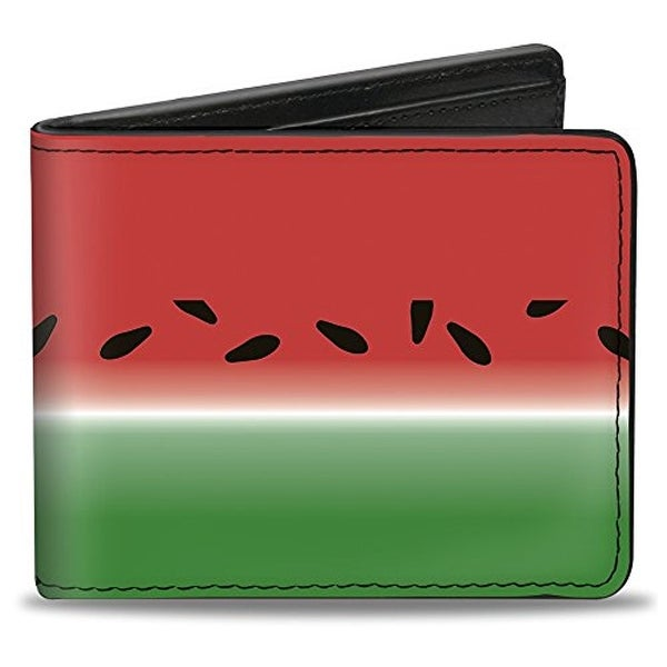 Buckle-Down Bifold Wallet Watermelon