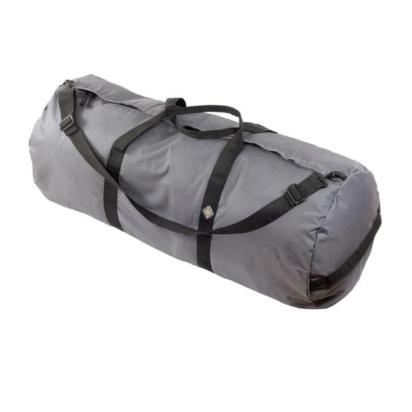 "North Star Sport Duffle Bag 18"" Diam 42"" L - Steel Gray SD1842DLXSG"