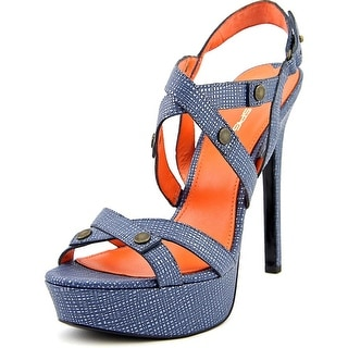Via Spiga Hisa Women Open Toe Leather Platform Sandal