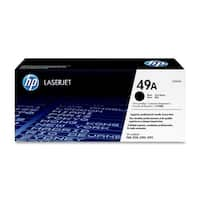 HP 49A High Yield Black Original LaserJet Toner Cartridge (Q5949AG)(Single Pack)