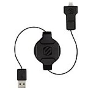 Scosche I2MR Sync/Charge Lightning/USB Data Transfer Cable - Lightning/USB for iPod, iPad, iPhone, C-NEW