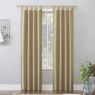 Link to Sun Zero Hayden Energy Saving Blackout Tab Top Curtain Panel Similar Items in Curtains & Drapes