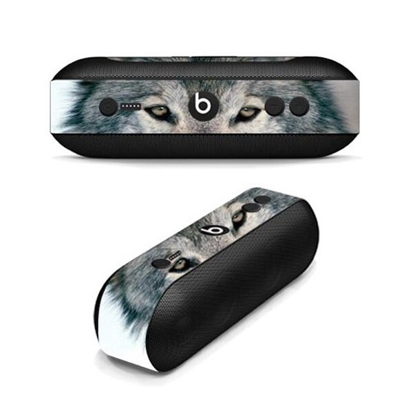 Skin Decal Wrap for Beats By Dr  Dre Beats Pill Plus Sticker - Wolf