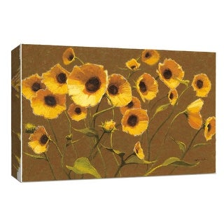 """PTM Images 9-153657  PTM Canvas Collection 8"""" x 10"""" - """"Sunny Flowers II"""" Giclee Flowers Art Print on Canvas"""