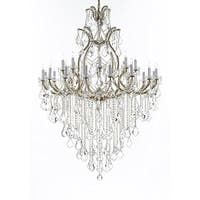 Maria Theresa Empress Crystal Chandelier Gold
