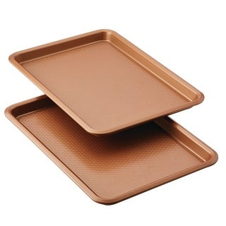 """Link to Ayesha Bakeware 11"""" x 17"""" Nonstick Cookie Pans, Set of 2 Similar Items in Gourmet Food Baskets"""