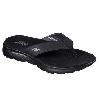 Skechers 54256 BKGY Men's ON THE GO 400 - SHORE Sandal