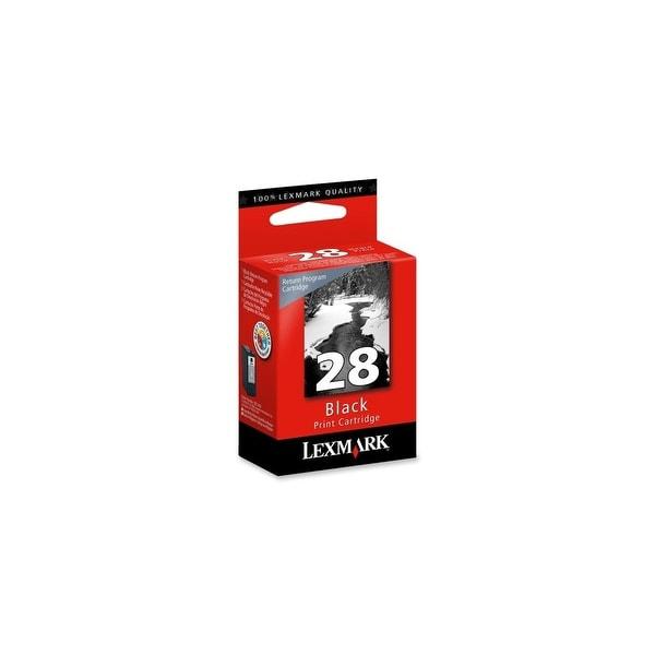 Lexmark 18C1428 Lexmark No. 28 Return Program Black Ink Cartridge - Black - Inkjet - 175 Page - 1 Each