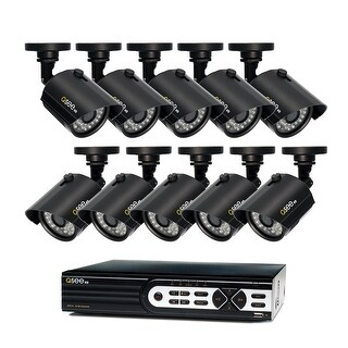 Q-See 16 Channel HD Security System with 10-720p HD Cameras, 2TB Hard Drive