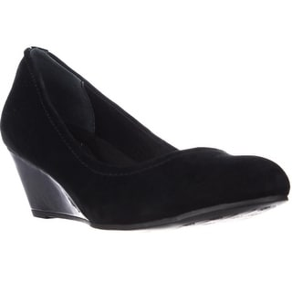 GB35 Jileen Comfort Wedge Heels - Black