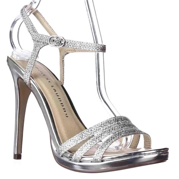 Chinese Laundry Be Alright Strappe Dress Sandals, Silver - 6.5 us / 37 eu