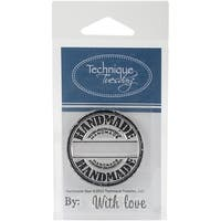 """Technique Tuesday Clear Stamps 2""""X2.5""""-Handmade Seal"""