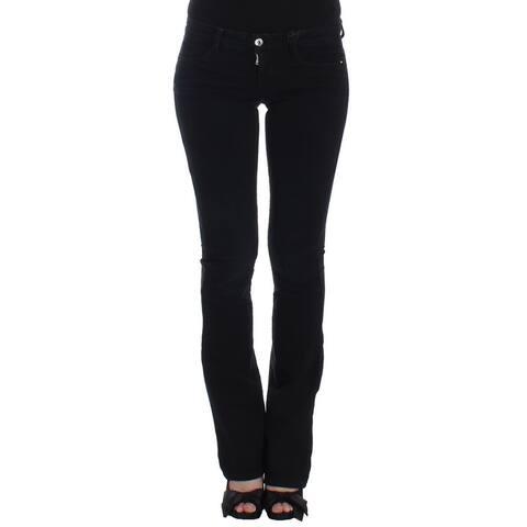 Costume National Dark Blue Straight Leg Women's Jeans