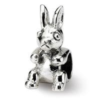 Sterling Silver Reflections Kids Bunny Bead (4mm Diameter Hole)