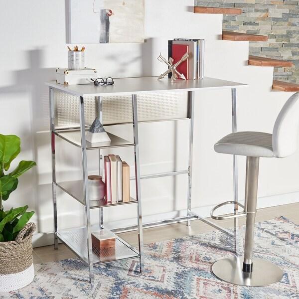 Safavieh Hayden Modern 3-Shelf Standing Desk. Opens flyout.