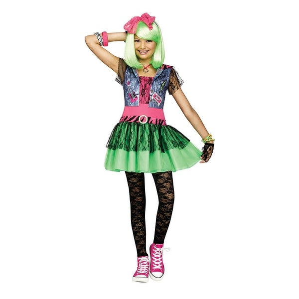 Girls Rockin' 80's Halloween Costume - Free Shipping On Orders ...