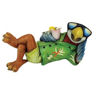 Design Toscano Just Chillin' Tiki Parrot Statue