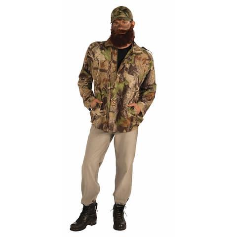Duck Hunter Costume Camouflage Jacket Adult
