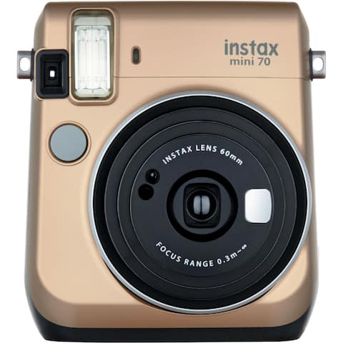 FUJIFILM INSTAX Mini 70 Instant Film Camera (Gold)