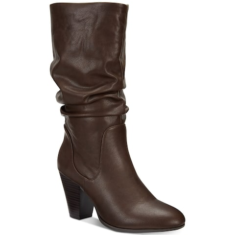 ESPRIT Womens Oliana Closed Toe Mid-Calf Fashion Boots