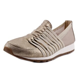 Easy Spirit Lehni Women Round Toe Synthetic Gold Walking Shoe