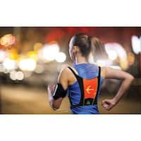 LED Lighted Safety Vest Signals Turns & Flashes -Biking Cycling Running Jogging