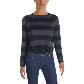 Eileen Fisher Womens Petites Sweater Silk Striped - pp