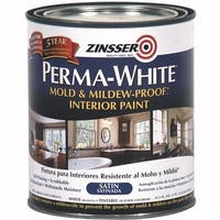 Rust-Oleum Int Sat Wht Mildew Paint 2704 Unit: QT