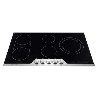 Frigidaire FPEC3677R 36 Inch Wide Built-In Electric Cooktop with SpacePro Bridge Element