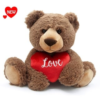 "Aurora - Love Teddy Bear 12"" High Quality Plush"