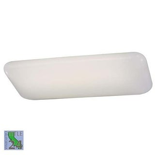 Minka Lavery ML 1005-PL 2 Light Fluorescent Ceiling Fixture from the Kitchen Fluorescent Collection