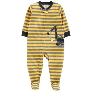Carter's Baby Boys' 1-Piece Construction Poly PJs - Multi