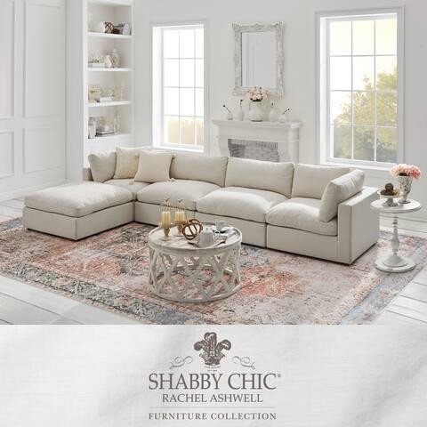 Braeden Modular L-Shape Linen Sofa Chaise