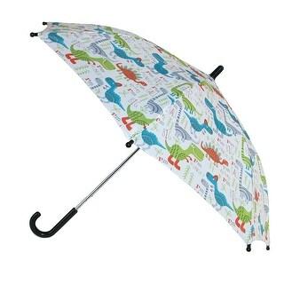CTM® Kid's Dinosaur Print Stick Umbrella - One size