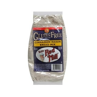 Bobs Red Mill 36995 Cinnamon Raisin Gluten Free Bread Mix