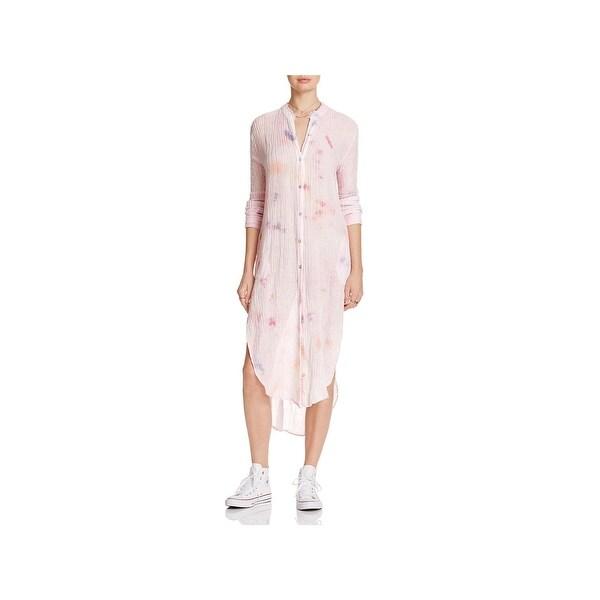 a32968a48f Shop Free People Womens Sleep Dress Linen Tie-Dye - Free Shipping ...